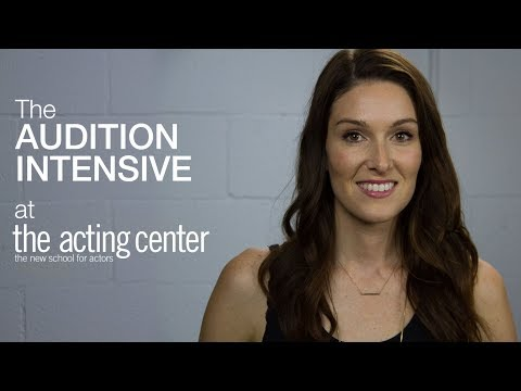 Stephanie Scholz on The Audition Intensive at The Acting Center - It's an Artistic Experience
