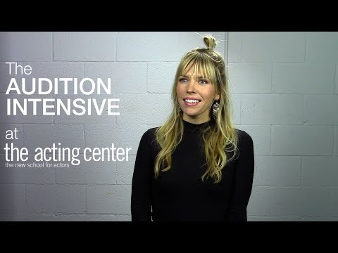 Kirstin Ford on The Audition Intensive at The Acting Center - Is this what you want?