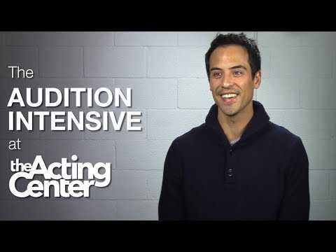 The Audition Intensive at The Acting Center - Marcus Coloma - It gives you this beautiful confidence