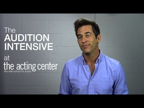 Wade Sullivan on The Audition Intensive at The Acting Center - I have more freedom
