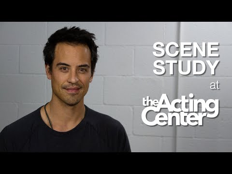 Scene Study Class at The Acting Center - Marcus Coloma - Deep emotional characters