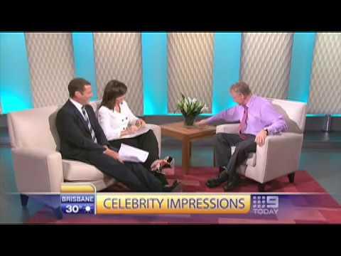 World's Greatest Impressionist Jim Meskimen on The Today Show, Australia