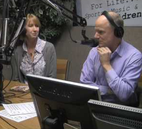 Jim and Tamra Meskimen as guests on Carolyn Fox's Hollywood.  The Acting Center of Los Angeles