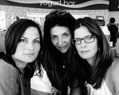 Paige Dorian, Paige Long and Michelle Stafford. The Stafford Project Wins Best Comedy at The LA Webfest