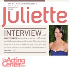 Inside the Industry Professional Series with Juliette Lewis at The Acting Center