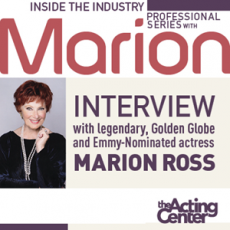 Inside the Industry Professional Series with Marion Ross at The Acting Center
