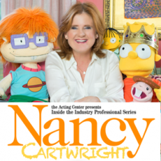 Inside the Industry Professional Series with Nancy Cartwright at The Acting Center