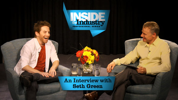 Inside the Industry Professional Series with Seth Green at The Acting Center