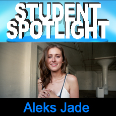 The Acting Center Student Spotlight Aleksandra Jade