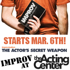Improv Class at The Acting Center - March 6, 2018