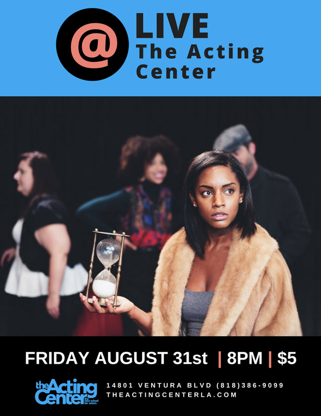 LIve @ The Acting Center - August 31 2018 - 8om