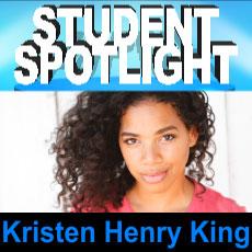 The Acting Center Student Spotlight Kristen Henry King