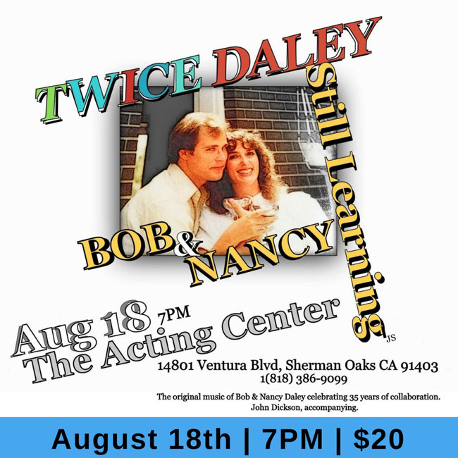 Twice Daley - Still Learning - Musical Performance at The Acting Center - August 18, 2018